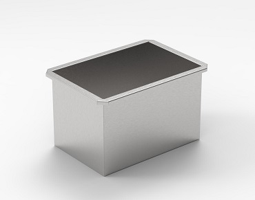 Stainless Steel Rectangular Tanks & Batch Cans